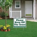 Yard Signs Keep Off images