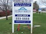 Real Estate Sign Commercial pictures
