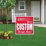 images of Yard Sign Union