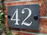 House Signs Numbers Canada images